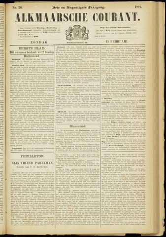 Alkmaarsche Courant 1891-02-15