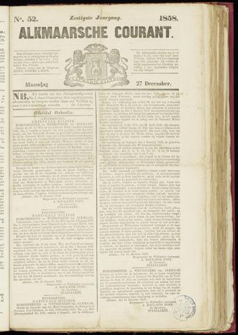 Alkmaarsche Courant 1858-12-27