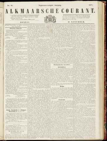 Alkmaarsche Courant 1877-11-18