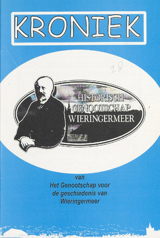 Kroniek Historisch Genootschap Wieringermeer 2001