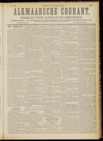 Alkmaarsche Courant 1916-08-02