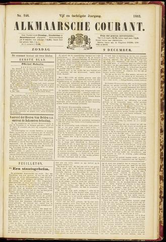 Alkmaarsche Courant 1883-12-09