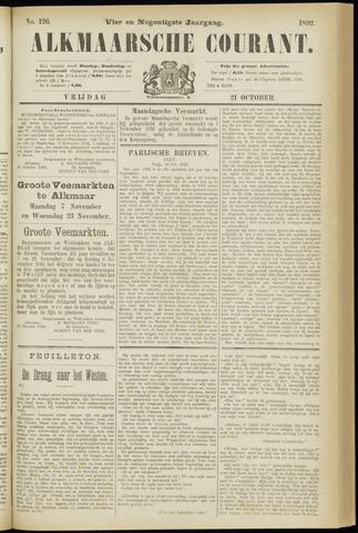 Alkmaarsche Courant 1892-10-21
