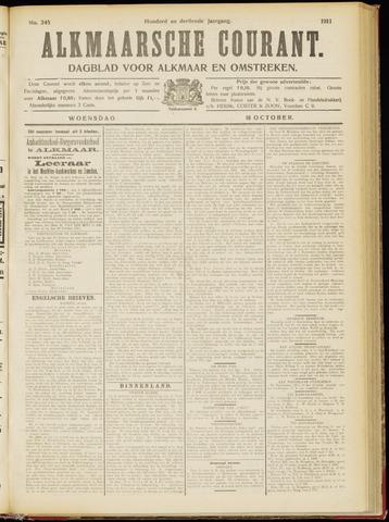 Alkmaarsche Courant 1911-10-18