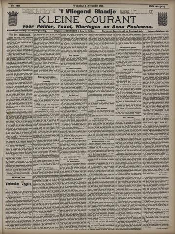 Vliegend blaadje : nieuws- en advertentiebode voor Den Helder 1909-11-03