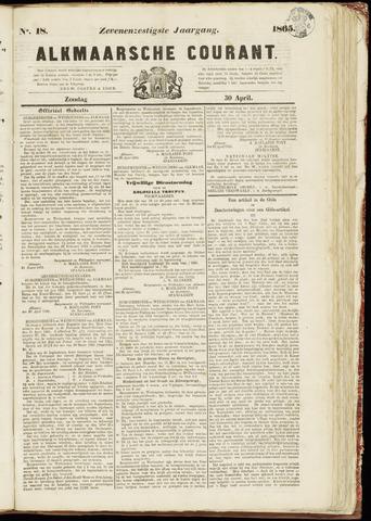 Alkmaarsche Courant 1865-04-30