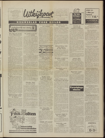 Uitkijkpost : nieuwsblad voor Heiloo e.o. 1975-01-22