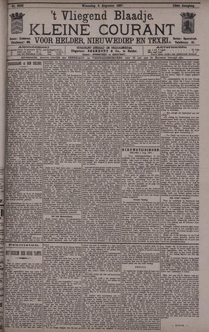 Vliegend blaadje : nieuws- en advertentiebode voor Den Helder 1897-08-04