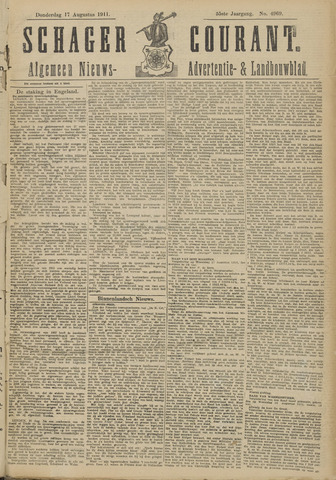Schager Courant 1911-08-17