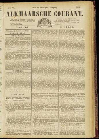 Alkmaarsche Courant 1881-04-24