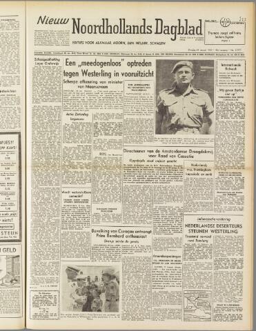 Nieuw Noordhollandsch Dagblad : voor Alkmaar en omgeving 1950-01-24