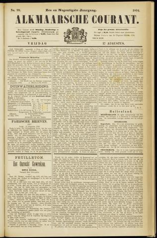 Alkmaarsche Courant 1894-08-17