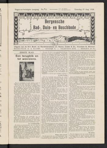 Bergensche bad-, duin- en boschbode 1938-08-27