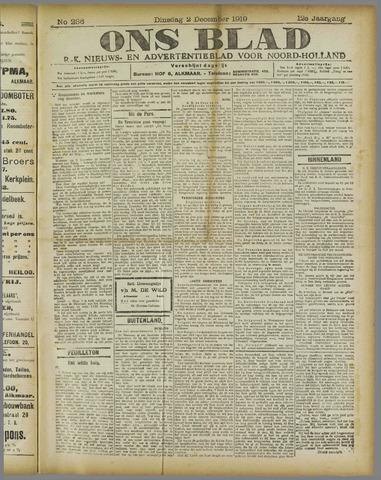 Ons Blad : katholiek nieuwsblad voor N-H 1919-12-02