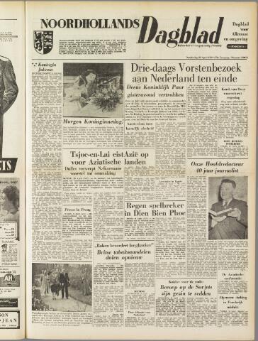 Noordhollands Dagblad : dagblad voor Alkmaar en omgeving 1954-04-29