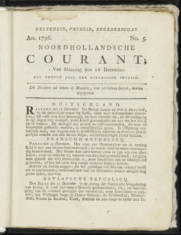 Noordhollandsche Courant 1796-12-26