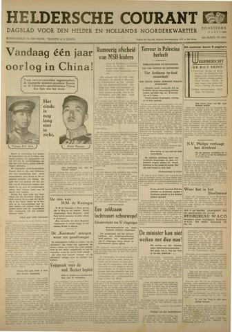 Heldersche Courant 1938-07-07