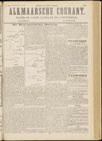 Alkmaarsche Courant 1914-10-24