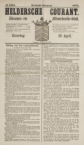 Heldersche Courant 1873-04-26