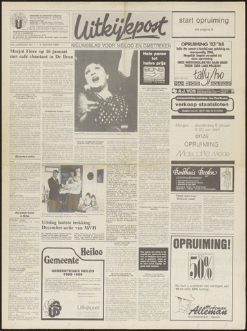 Uitkijkpost : nieuwsblad voor Heiloo e.o. 1988