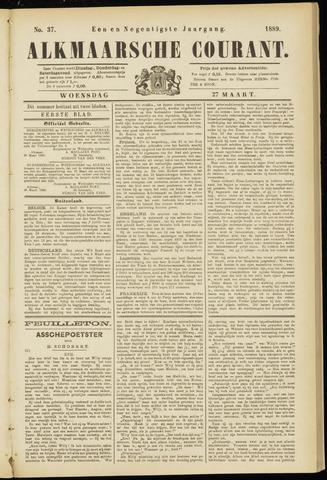 Alkmaarsche Courant 1889-03-27