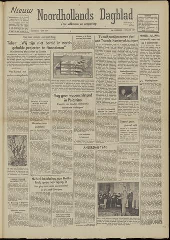 Nieuw Noordhollandsch Dagblad : voor Alkmaar en omgeving 1948-06-05