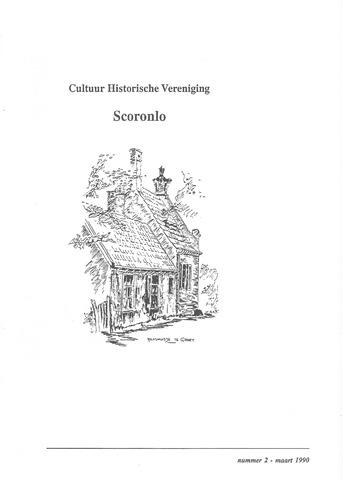 Tijdschrift van cultuurhistorische vereniging Scoronlo 1990-03-01