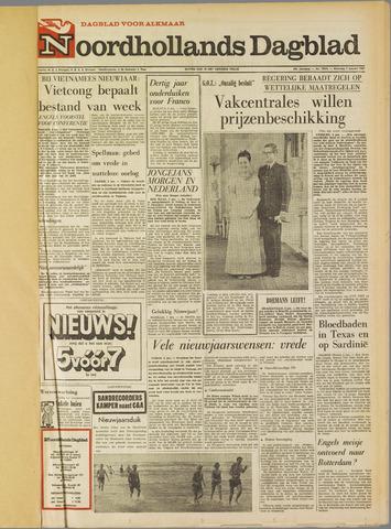 Noordhollands Dagblad : dagblad voor Alkmaar en omgeving 1967-01-02