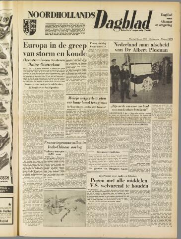 Noordhollands Dagblad : dagblad voor Alkmaar en omgeving 1954-01-05