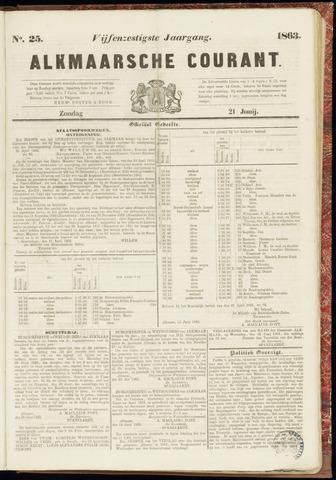 Alkmaarsche Courant 1863-06-21