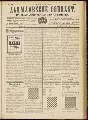 Alkmaarsche Courant 1909-09-17