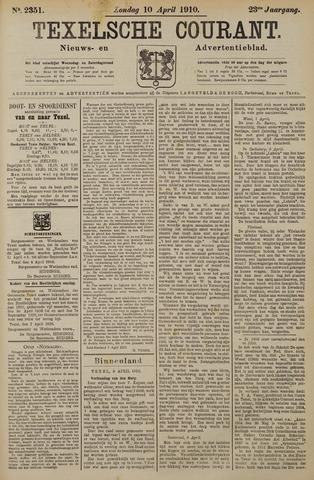 Texelsche Courant 1910-04-10