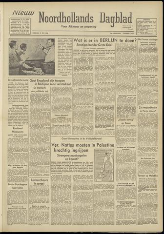 Nieuw Noordhollandsch Dagblad : voor Alkmaar en omgeving 1948-07-13