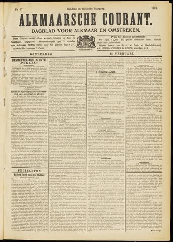 Alkmaarsche Courant 1913-02-13