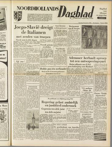 Noordhollands Dagblad : dagblad voor Alkmaar en omgeving 1953-09-05