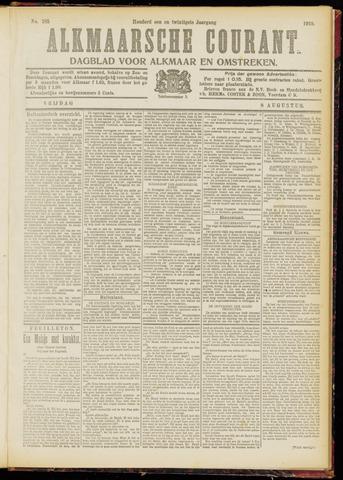Alkmaarsche Courant 1919-08-08