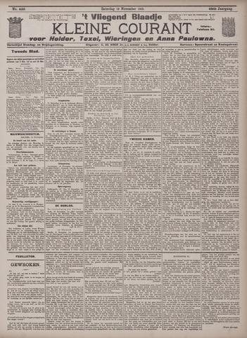 Vliegend blaadje : nieuws- en advertentiebode voor Den Helder 1912-11-16