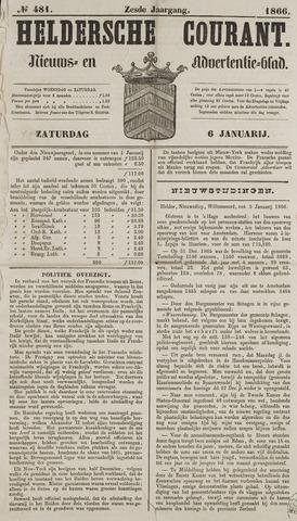 Heldersche Courant 1866-01-06
