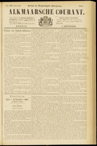 Alkmaarsche Courant 1895-09-08