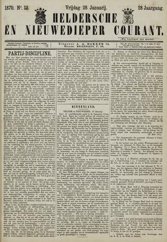 Heldersche en Nieuwedieper Courant 1870-01-28