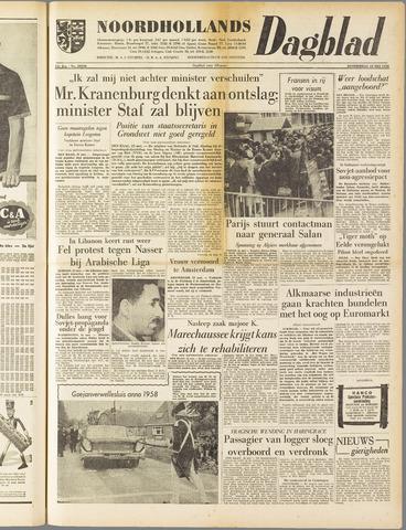 Noordhollands Dagblad : dagblad voor Alkmaar en omgeving 1958-05-22