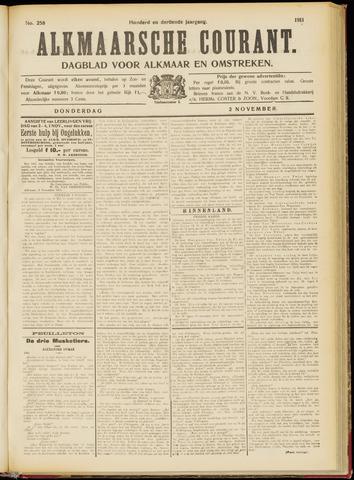Alkmaarsche Courant 1911-11-02