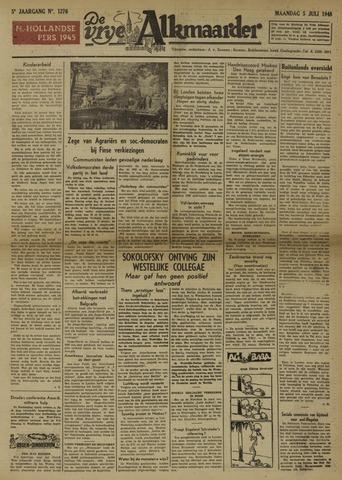 De Vrije Alkmaarder 1948-07-05