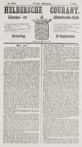 Heldersche Courant 1870-09-10