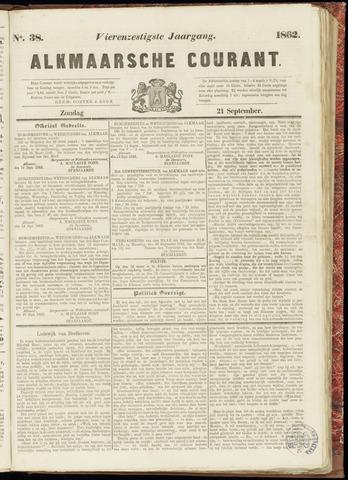 Alkmaarsche Courant 1862-09-21