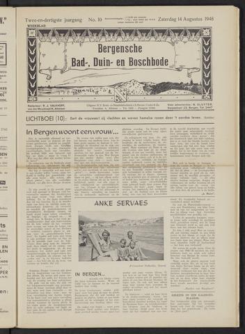 Bergensche bad-, duin- en boschbode 1948-08-14