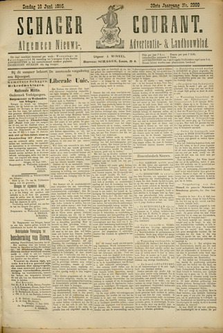 Schager Courant 1895-06-16