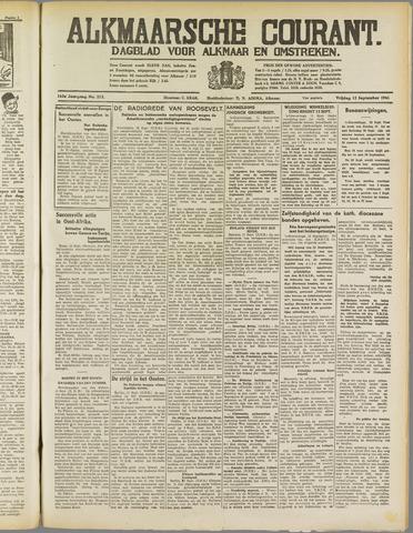 Alkmaarsche Courant 1941-09-12