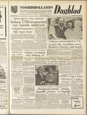 Noordhollands Dagblad : dagblad voor Alkmaar en omgeving 1958-08-22
