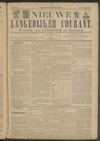 Nieuwe Langedijker Courant 1897-10-24
